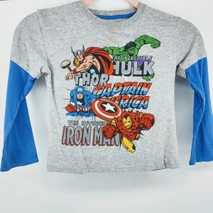 Marvel Character Graphic TShirt Youth 4T
